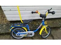 Puky bike 14 inch wheels