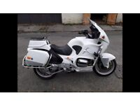 EX MET POLICE BMW R1100RT or PX OLD BRITISH BIKE?
