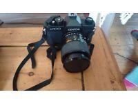 Film camera CENTON K100 and accessories