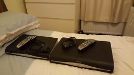 2 x sky hd boxes with power cables & remotes will sell seperate if requires