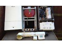 Heat only worcester boch boiler