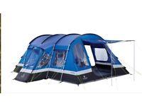 Tent Frontier 6 man tent, carpet & ground sheet