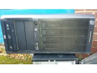 Job lot of 4 HP servers and 1 workstation (sold individually at £100 each and £60 for workstation)