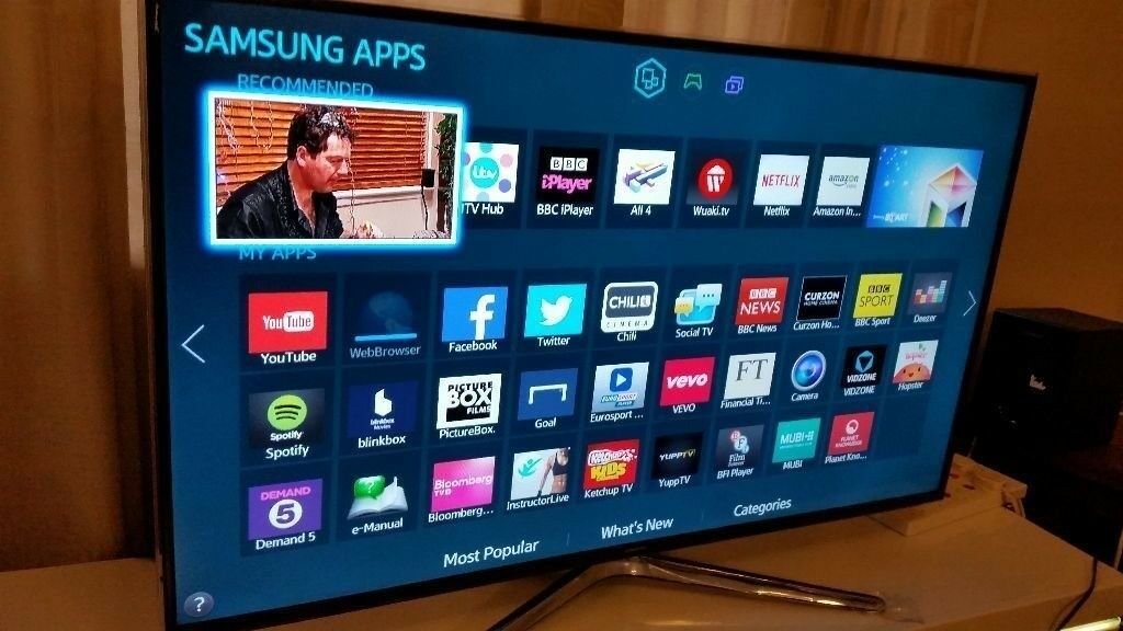 SAMSUNG 40-inch SMART FULL HD 3D ACTIVE LED TV,40H6400,-builtin  Wifi,Freeview,Netflix,Fully Working | in Salford, Manchester | Gumtree