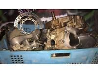 2001 YZ250F four stroke, breaking