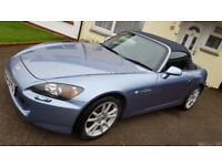 Honda S2000. Lovely reliable car, full service history. Only selling due to lack of room.