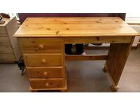 pine dressing table