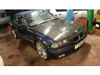 1999 BMW E36 318 CABRIO MANUAL CONVERTIBLE GREAT CONDITION NEW ROOF 4 YEARS IN DRY STORAGE