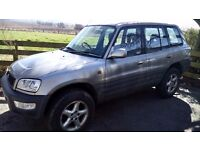 RAV4 sold as spare part