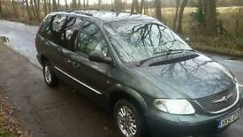 Chrysler Grand Voyager 7 seater Whellchair Accessible