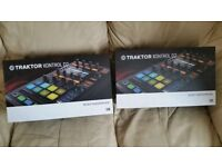2x Native Instruments Traktor kontrol D2's