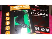 Tablet cover (shockproof) samsung tab4-with screen protectors