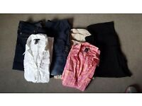 Size 14 and medium maternity clothes