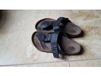 Women's Birkenstock Toepost sandles size 4