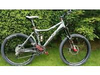 PACE RC506 150mm Full Suspension Mountain Bike, Cost over £4400 little use