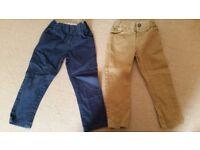 Boys' trouser bundle - 4 pairs - age 3-4