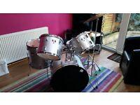 Drum Kit - full size 5 piece CB drums