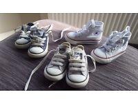 Converse all stars 3 pairs
