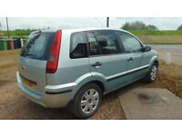cheap ford fusion, 1.4 diesel, long MOT. good condition. tax £30!!!