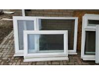 UPVC white windows