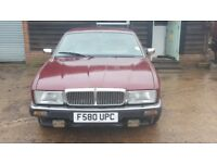 Classic Daimler Sovereign 1989. Low Mileage Genuine 78000. Extensive service history to proove