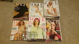 Job Lot Vogue Magazines 1999-2005
