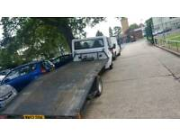 Vehicle recovery and car towing services and transportation