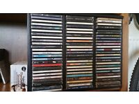 200 CD's plus storage - U2, Madonna, Queen, REM, & loads more of the best albums!