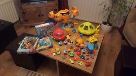 Octonauts toy bundle and jigsaw set