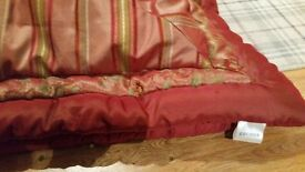king size heavyweight throw,cushions and curtains