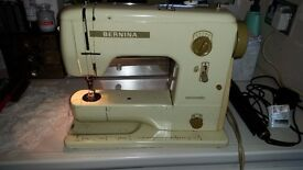 Sewing Machine Bernina Minimatic with carry box Canford Heath Poole