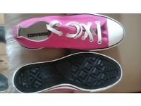 Converse shoes new 2 pairs