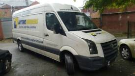2011 vw crafter 2.5 blue tdi 6 speed spares or repairs