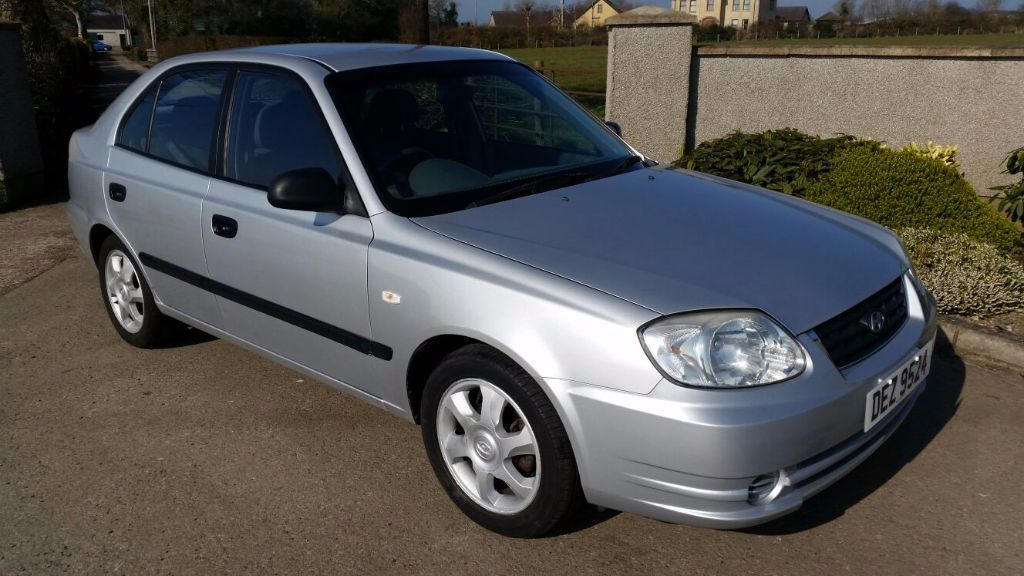 hyundai accent 2005 low miles full mot in antrim county. Black Bedroom Furniture Sets. Home Design Ideas