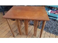 Coffee table/occasional tables, solid wood