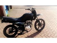 Sym 125 off road bike for sale. Open to swaps for a 50cc ped/road bike