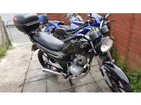 2012 - SYM XS-125cc Motorbike (LearnerLegal Bikes)