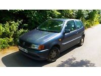 Excellent Condition Volkswagen Polo 1.4l Needs to go! Only 84K Miles! 2 Owners! MOT Jan 2017!