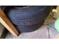 Set of Peugeot 207 Steel Wheels and Tyres