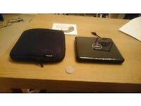 DVD RW drive for laptop (USB connection) with carry case, 8x optical drive - mint condition DELL