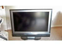 PRICE REDUCE DUE TO SPACE NEEDED-FLAT SCREEN 37 INCH-PERFECT CONDITION WITH FREE VIEW DIGITAL BOX