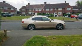 BMW F10 5 series 2011 very rare gold/ brown leather a lot of extras!!