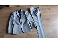 Mens grey suit from New Look