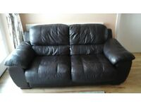 three seater and two seater leather sofas for sale