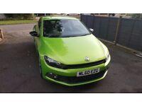 VOLKSWAGEN SCIROCCO VIPER GREEN 2.0L TSI (210BHP) GT DSG - 2010 (60 REG) SEMI AUTO WITH F1 PADDLES