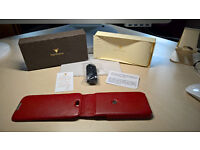 iphone 6 or 6s Piel Frama Luxury Leather Flip Case with optional belt clip USED