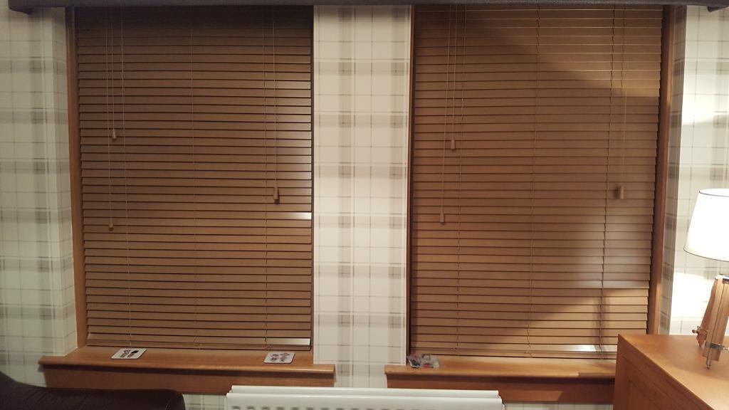 Brand new wooden Venetian blinds