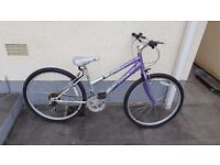 Excellent bicycle hardly used for sale in immaculate condition 6 gears new tyres very comfortable