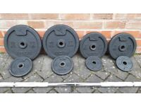DOMYO WEIGHTS SET WITH 6FT BARBELL