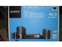 Sony BD/DVD E-300 Home Theatre System, Blu-ray Surround Sound, Including Digital Media Port.